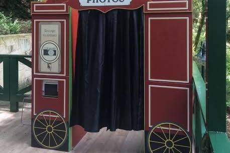 Fotomatón en exterior