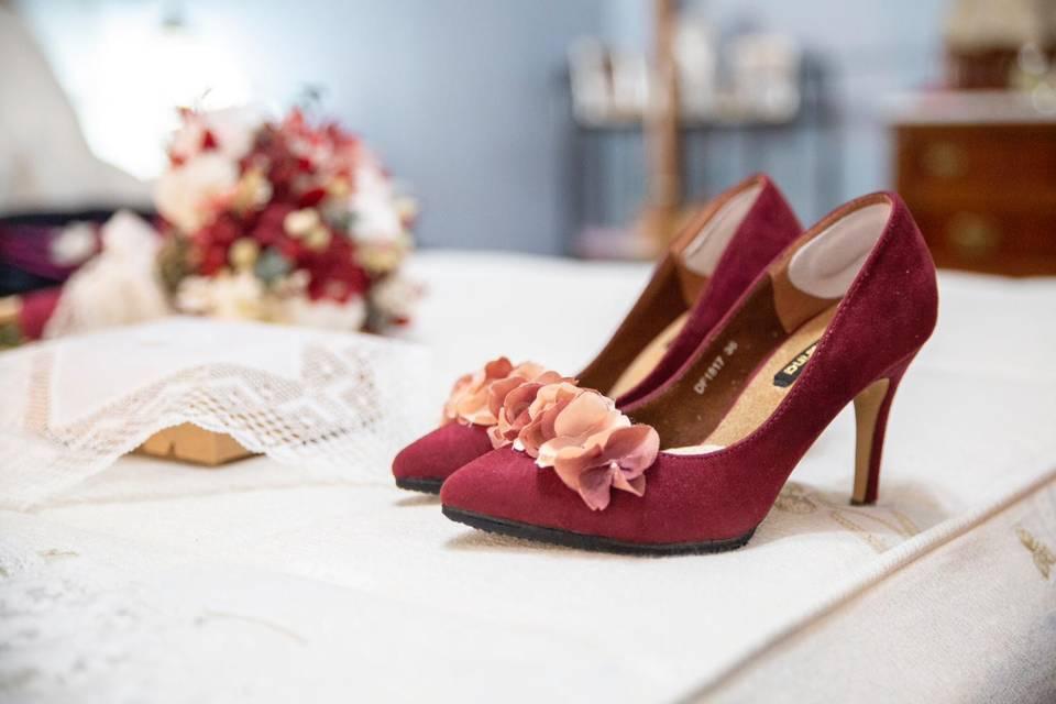 Flores para zapatos