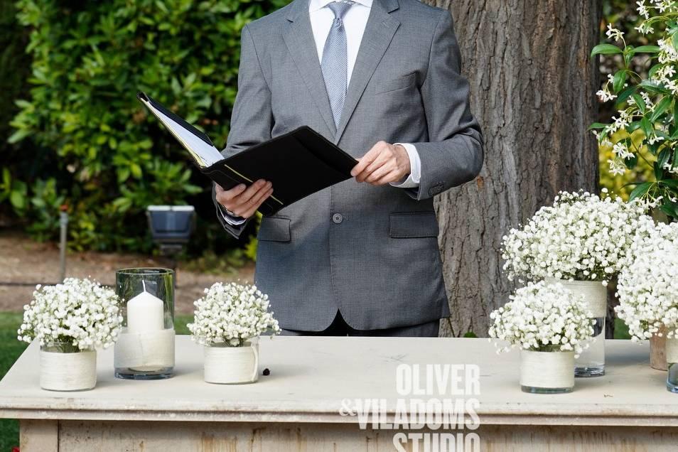 Oficiantes para bodas