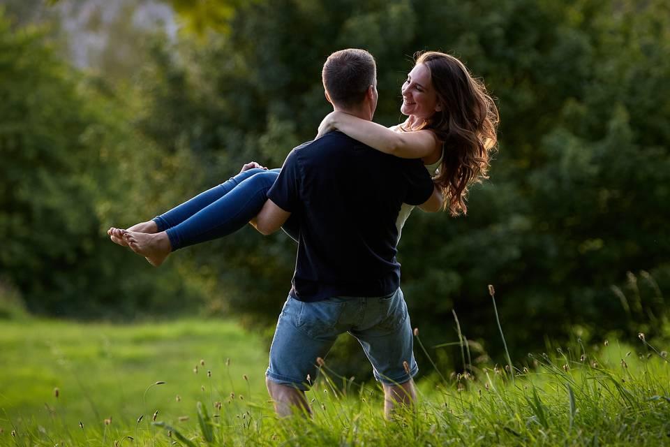 El amor está en aire