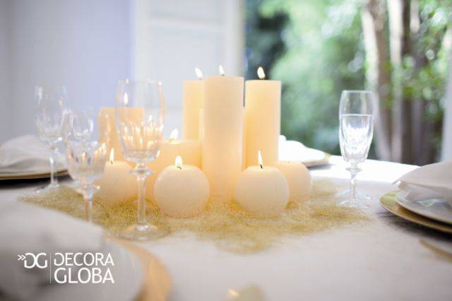 Detalles de las velas