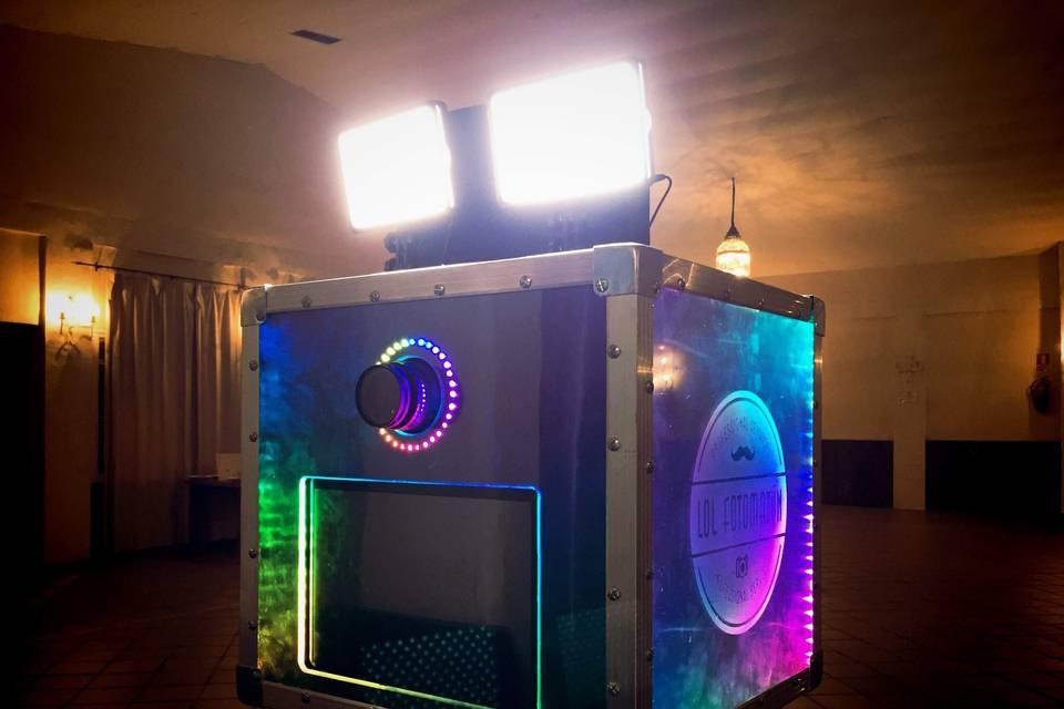 Maquina LED multicolor