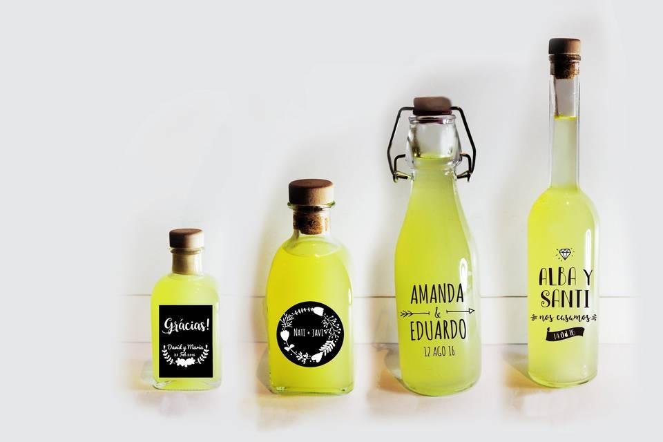 Botellas para celebraciones