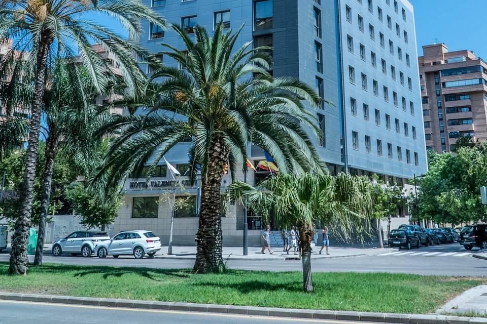 Fachada Hotel Valencia Center