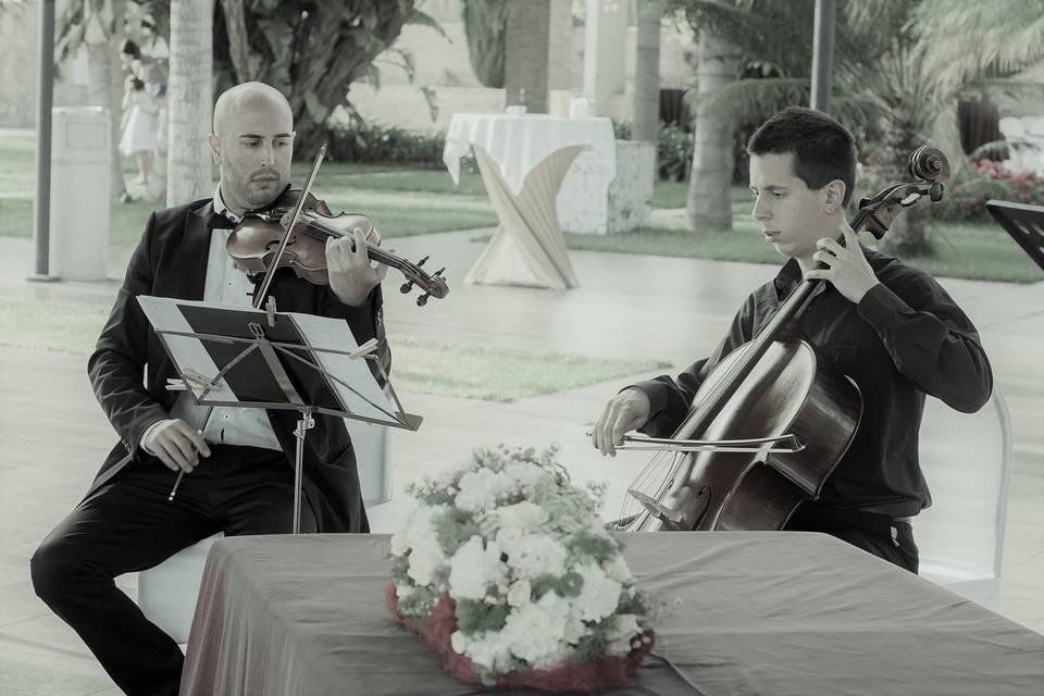 Ceremonia violín y cello