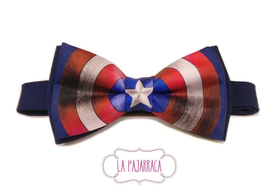 Pajarita Capitán América