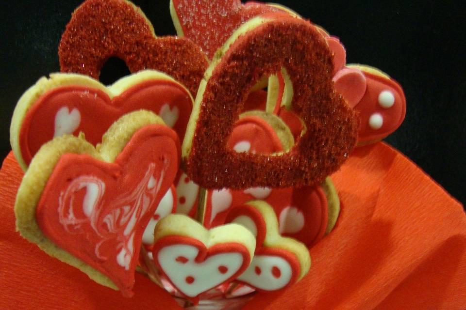 Bouquet de galletas decoradas
