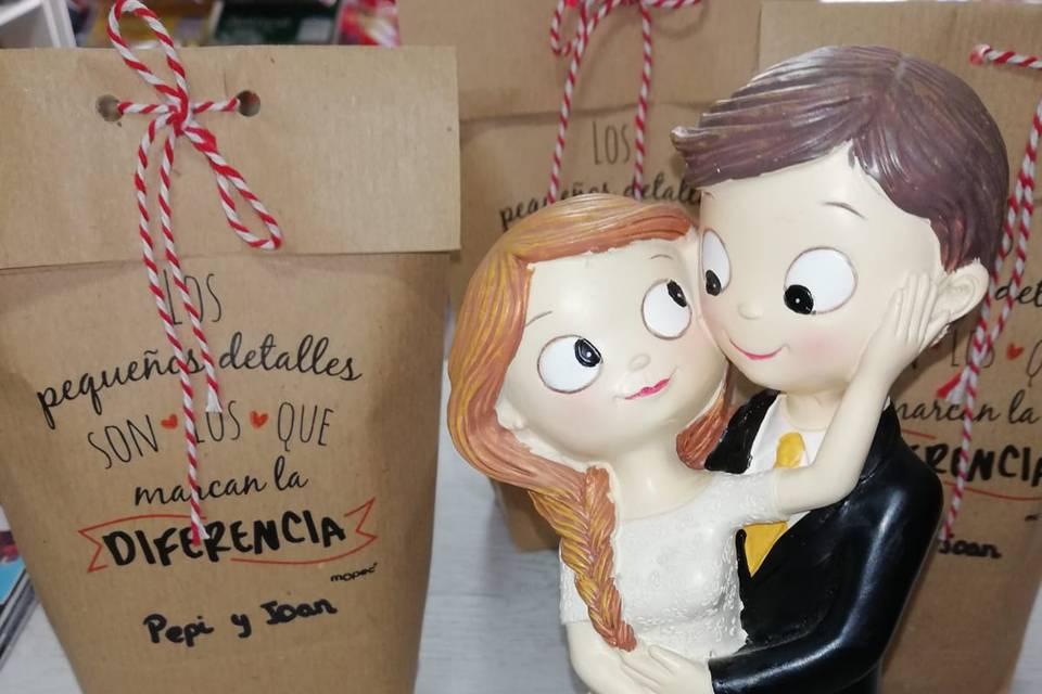 Figura y detalles boda