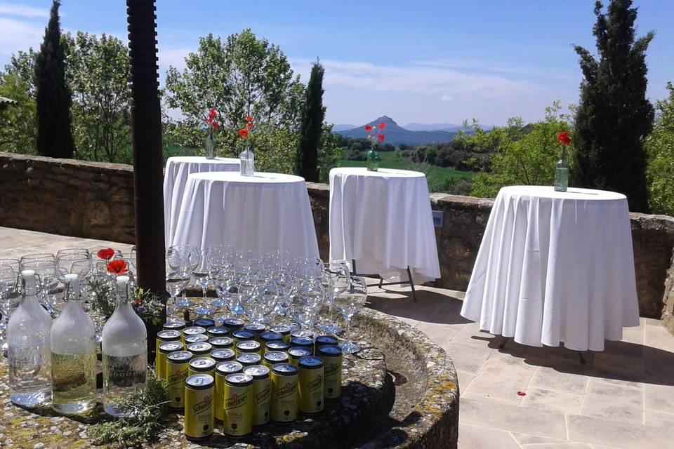 Luxury wedding cocktail
