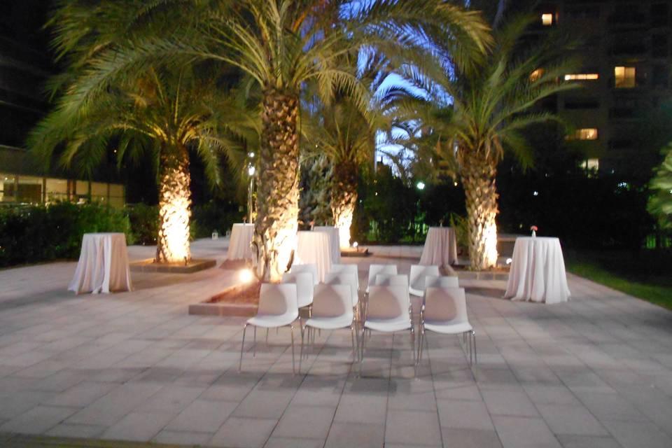 Jardín Hotel Primus Valencia