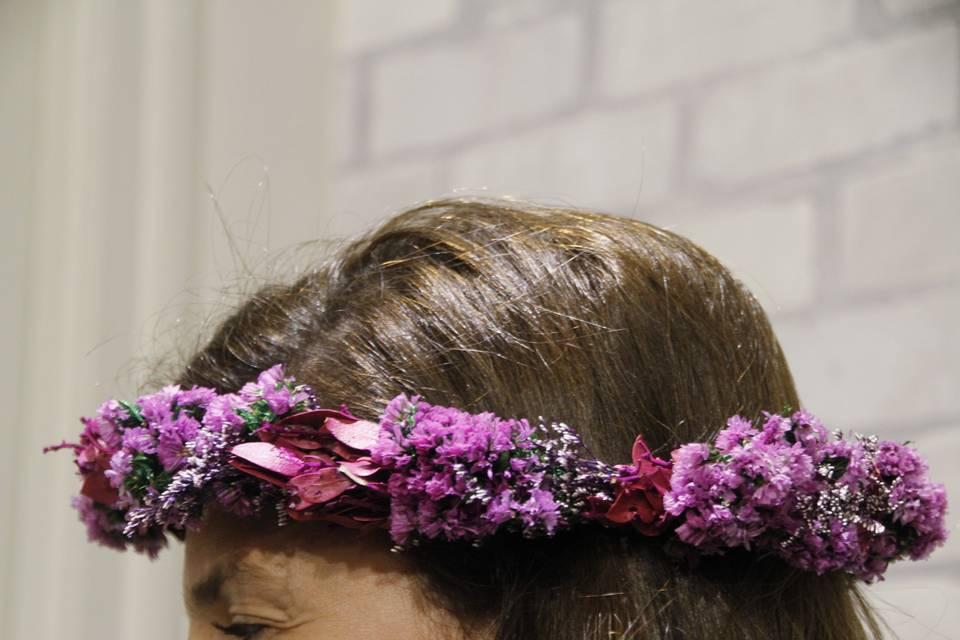 Diadema Floral Tú Misma