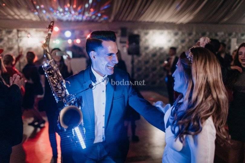 Fabián Rivero - Saxofonista