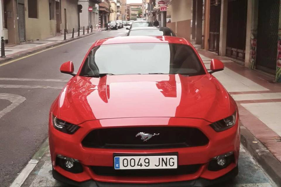 Isaac Caño - Ford Mustang GT