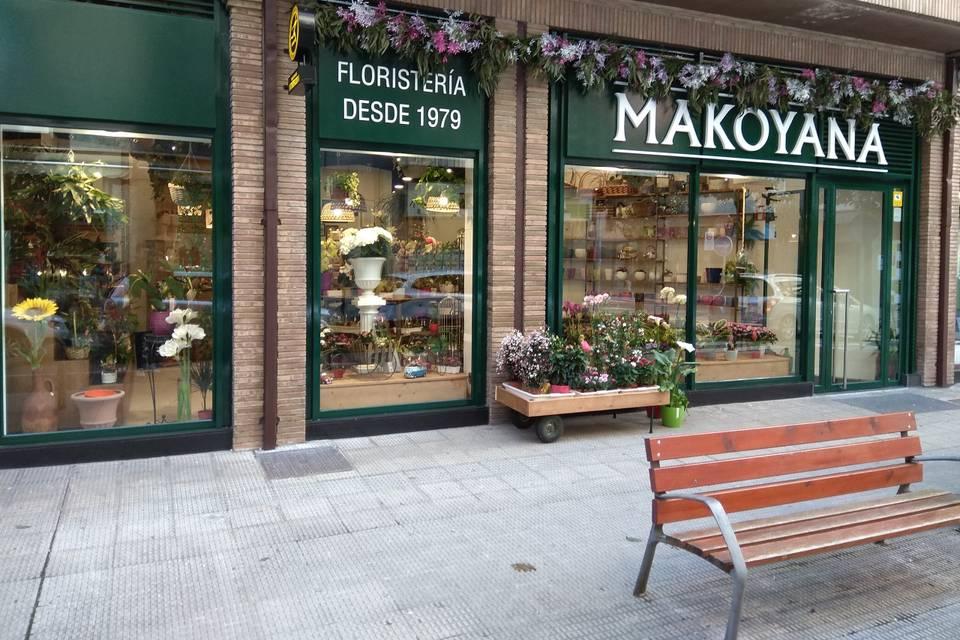 Fachada de Makoyana